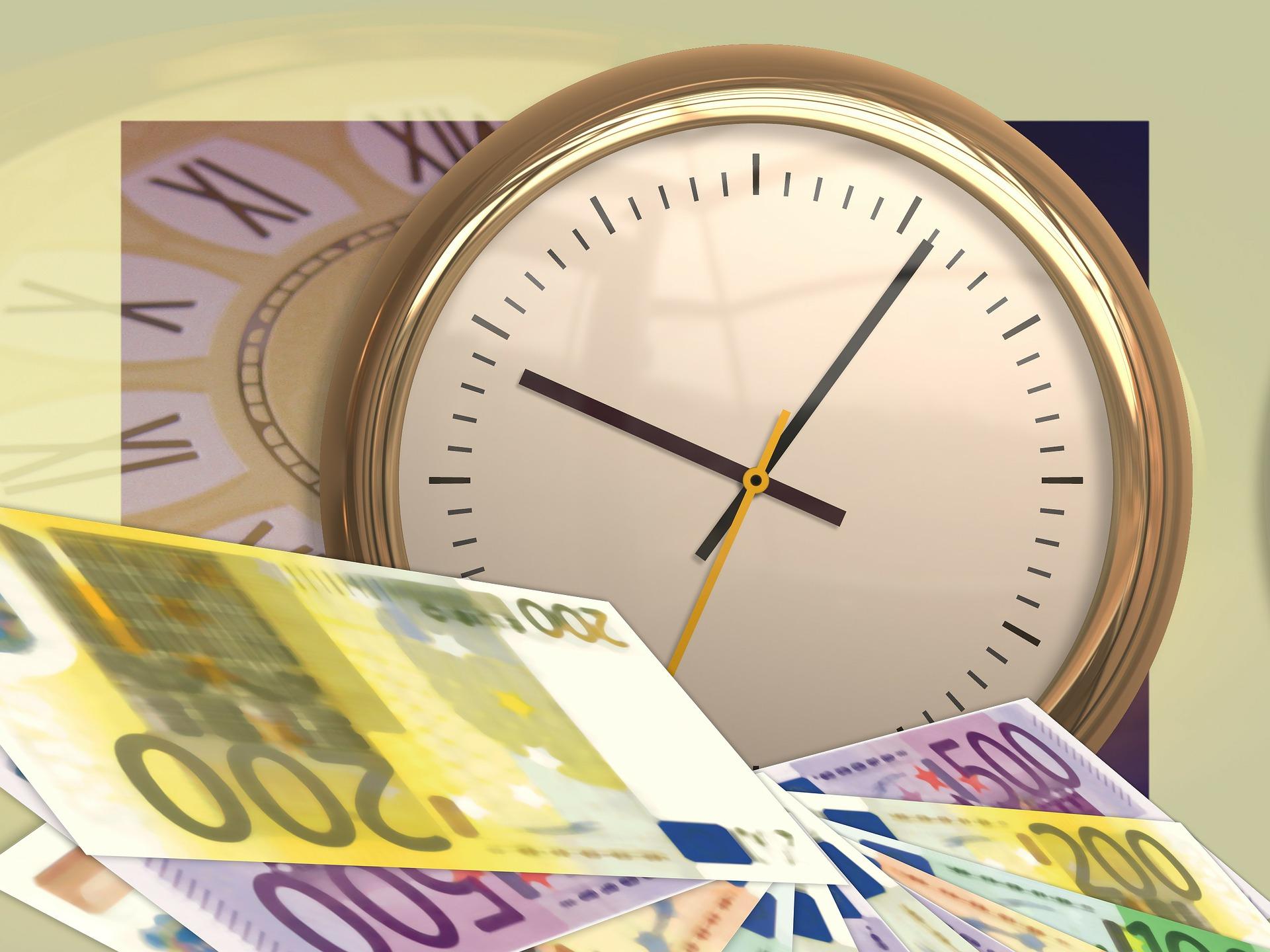euro zegar